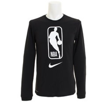 【Super Sports XEBIO & mall店:スポーツ】AS NBA ロゴ POLY ロングスリーブTシャツ AQ9927-010FA18NBA