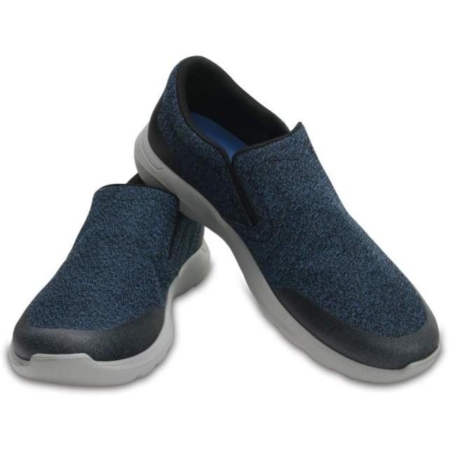 【クロックス公式】 クロックス キンセイル スタティック スリップオン メン Men's Crocs Kinsale Static Slip-On メンズ、紳士、男性用 ブルー/青 25cm,26cm,27cm,28cm,29cm shoe 靴 シューズ