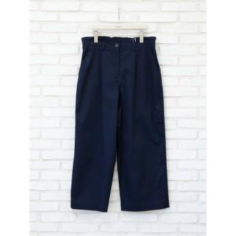 【大きいサイズレディース】【LL-5L展開】ストレッチサテンワイドパンツ パンツ ワイドパンツ