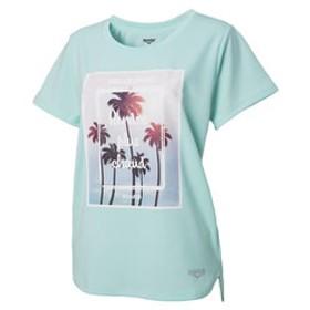 【Super Sports XEBIO & mall店:トップス】ドライプラス UVメッシュ半袖Tシャツ 864D8CD5650 EGRN