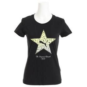 【Super Sports XEBIO & mall店:トップス】Starグラフィック 半袖Tシャツ 850579 01 BLK-