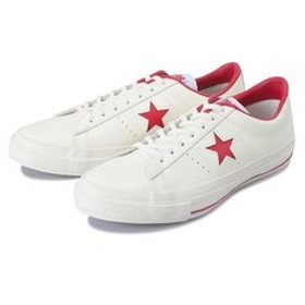 【ABC-MART:シューズ】32340282 ONE STAR(A) OX WHITE/RED 510330-0001