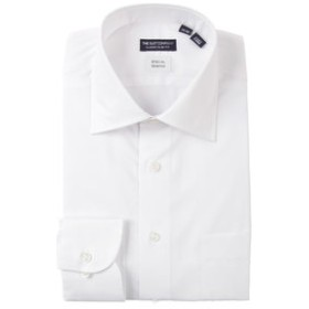【THE SUIT COMPANY:トップス】【STRETCH COMFORT】ワイドカラードレスシャツ〔EC・CLASSIC SLIM-FIT〕
