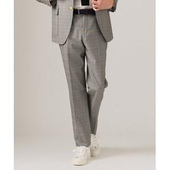 【J.PRESS MEN:スーツ・ネクタイ】A.W.C グレンチェック スラックス/パンツ