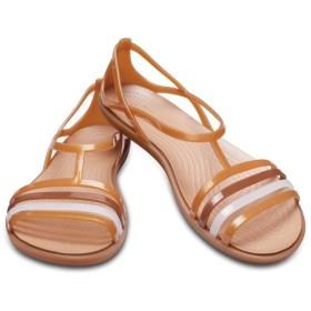 【クロックス公式】 クロックス イザベラ サンダル ウィメン Women's Crocs Isabella Sandal ウィメンズ、レディース、女性用 ブラウン/茶 21cm,22cm,23cm,24cm,25cm sandal サンダル