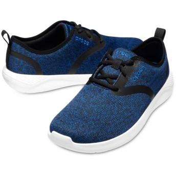 【クロックス公式】 ライトライド レース メン Men's LiteRide Lace メンズ、紳士、男性用 ブルー/青 25cm,26cm,27cm,28cm sneaker スニーカー スリッポン スリップオン