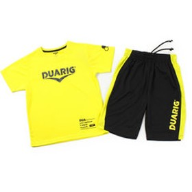 【Super Sports XEBIO & mall店:トップス】ジュニア ドライプラス Tシャツ上下セット 865D8CD5669 FGRN