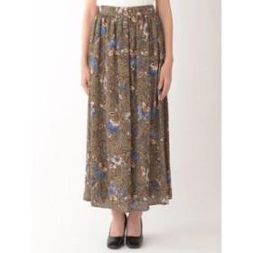 【sophila:スカート】サラサプリントギャザースカート