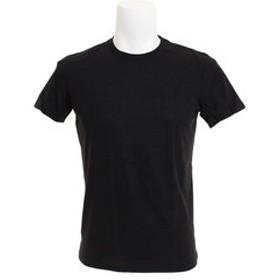 【Super Sports XEBIO & mall店:トップス】【オンライン特価】 無地 クルーネック Tシャツ 871Q8JY2069BLK