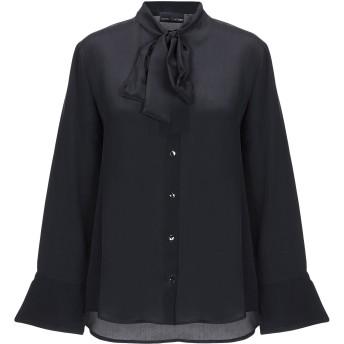 《セール開催中》EUROPEAN CULTURE レディース シャツ ブラック XS シルク 100%