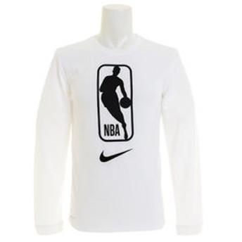 【Super Sports XEBIO & mall店:スポーツ】AS NBA ロゴ POLY ロングスリーブTシャツ AQ9927-100FA18NBA