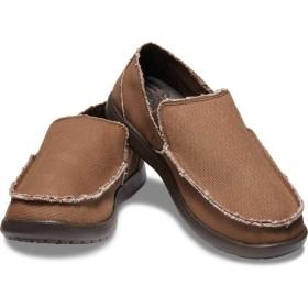 【クロックス公式】 メンズ サンタクルーズ スリップオン Men's Santa Cruz Slip-On メンズ、紳士、男性用 ブラウン/茶 25cm,26cm,27cm,28cm,29cm loafer ローファー 靴 30%OFF