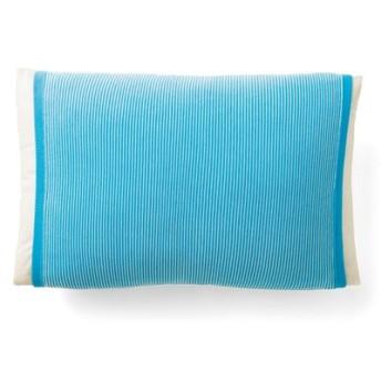 丸ごと包んで快適 接触冷感 涼やか色のボーダー枕カバーの会 フェリシモ FELISSIMO【送料:450円+税】