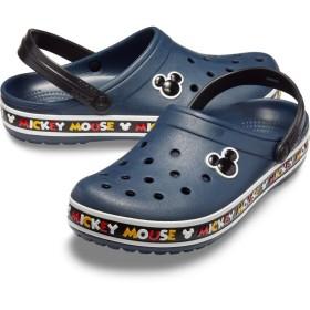 【クロックス公式】 クロックバンド ミッキー 3.0 クロッグ Crocband Disney Mickey Mouse III Clog ユニセックス、メンズ、レディース、男女兼用 ホワイト/白 22cm,23cm,24cm,25cm,26cm,27cm,28cm clog クロッグ サンダル