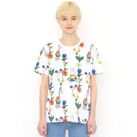 [マルイ]【セール】【ユニセックス】コラボレーションTシャツ/お花とミッフィー(ミッフィー)/グラニフ(graniph)