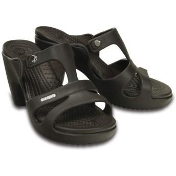 【クロックス公式】 サイプラス 5.0 ヒール ウィメン Women's Cyprus V Heel ウィメンズ、レディース、女性用 ブラウン/茶 21cm,22cm,23cm,24cm,25cm heel ヒール パンプス ミュール 40%OFF