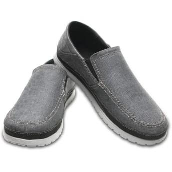 【クロックス公式】 サンタクルーズ プラヤ スリップオン メン Men's Santa Cruz Playa Slip-On メンズ、紳士、男性用 グレー/グレー 25cm,26cm,27cm,28cm,29cm loafer ローファー 靴 20%OFF