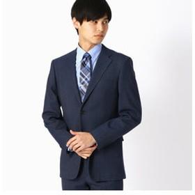【COMME CA ISM:スーツ・ネクタイ】《セットアップ》 クールマックス デニムルック スーツジャケット