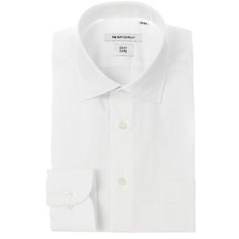 【THE SUIT COMPANY:トップス】ワイドカラードレスシャツ シャドーストライプ 〔EC・FIT〕