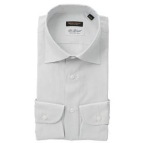 【THE SUIT COMPANY:トップス】『FILO D'ORO』ワイドカラードレスシャツ≪Fabric by CarloBassetti≫