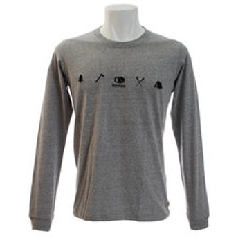 【Super Sports XEBIO & mall店:トップス】ACTIVITIES 長袖Tシャツ 10BNF8CD2025 GRY