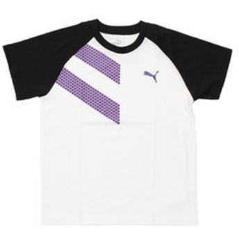 【Super Sports XEBIO & mall店:トップス】ショートスリーブTシャツ 591891 02 WHT-