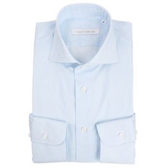 【THE SUIT COMPANY:トップス】【blazer's bank.com】ホリゾンタルカラードレスシャツ プリント