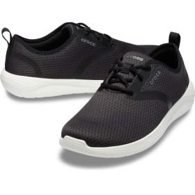 【クロックス公式】 ライトライド メッシュ レース メン Men's LiteRide Mesh Lace メンズ、紳士、男性用 ブラック/黒 25cm,26cm,27cm,28cm,29cm shoe 靴 シューズ