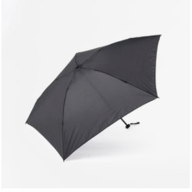 【KEYUCA:ファッション雑貨】M 折畳傘 軽量 無地 ネイビーブルー