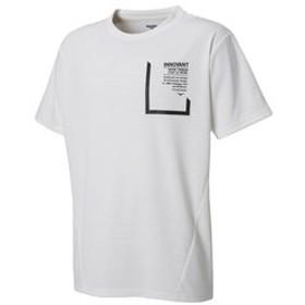 【Super Sports XEBIO & mall店:トップス】サイクルエアーボックスシルエットTシャツ 863D8HD5630 WHT