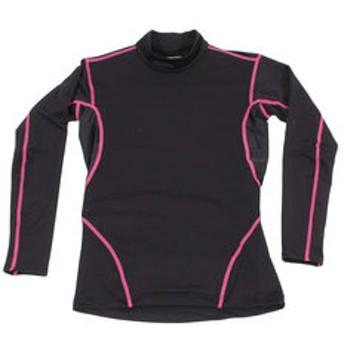 【Super Sports XEBIO & mall店:スポーツ】WIND-X 長袖ハイネックシャツ 786PG8ES1062 BK/PK オンライン価格