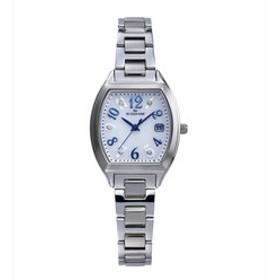 【ザ・クロックハウス:時計】ザ・クロックハウス ソーラー LBC1001-WH1A 腕時計 就活 入学 就職 ギフト プレゼント ビジネス カジュアル