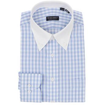 【THE SUIT COMPANY:トップス】クレリック&ボタンダウンカラードレスシャツ 〔EC・CLASSIC SLIM-FIT〕