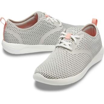 【クロックス公式】 ライトライド メッシュ レース ウィメン Women's LiteRide Mesh Lace ウィメンズ、レディース、女性用 ホワイト/白 21cm,22cm,23cm,24cm,25cm shoe 靴 シューズ