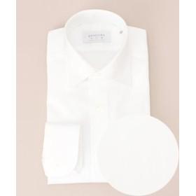【五大陸:トップス】【日本製】 SLOWVINTAGE ドレスシャツ セミワイド