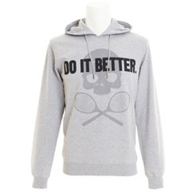 【Super Sports XEBIO & mall店:トップス】DO IT BETTER ロゴパーカー T00088GREY