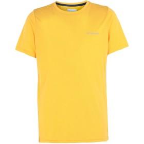 《期間限定 セール開催中》COLUMBIA メンズ T シャツ あんず色 M ポリエステル 65% / レーヨン 35% Nostromo Ridge SS Tee