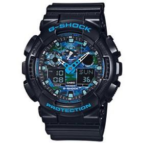【SALE/送料無料】【ザ・クロックハウス:時計】Gショック G-SHOCK カシオ CASIO 耐衝撃 防水 腕時計 タフ GA-100CB-1AJF