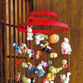 家族のお守り 干支と縁起もの つるし飾りの輪飾り フェリシモ FELISSIMO【送料:450円+税】
