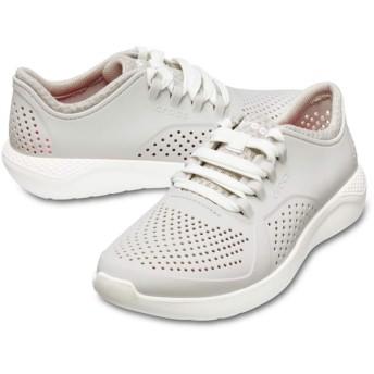 【クロックス公式】 ライトライド ペイサー ウィメン Women's LiteRide Pacer ウィメンズ、レディース、女性用 ホワイト/白 23cm,24cm,25cm shoe 靴 シューズ