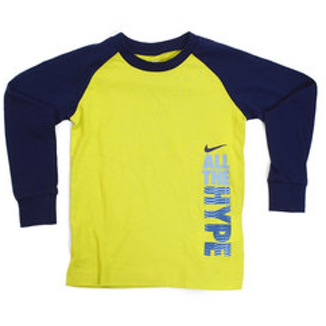【Super Sports XEBIO & mall店:トップス】ボーイズ 長袖Tシャツ 76C546-E6G
