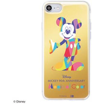 【Mickey 90th Anniversary Magic of Color:雑貨】iPhone 8 / 7 /『ディズニーキャラクター』/TPUケース+背面パネルミッキーマウス 90周年&mall限定