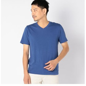 【SHIPS:トップス】SC: ガーメントダイ オーガニック Vネック Tシャツ