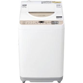 ES-T5CBK-N 縦型洗濯乾燥機 ゴールド系