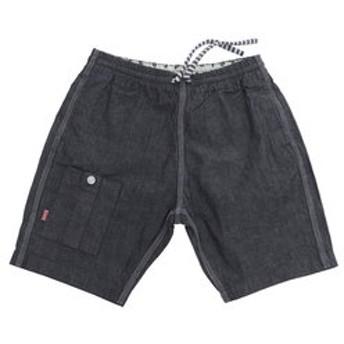 【Victoria L-Breath & mall店:アウトドア】Cotton Linen Indigo Shorts Women's CH13-1091 Indigo
