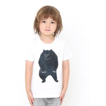 【グラニフ:トップス】クマ(カタカタ)
