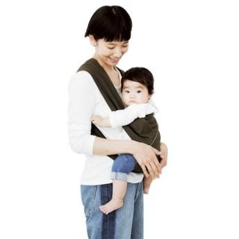 ベーシック抱っこひも カーキ×グレーボーダー フェリシモ FELISSIMO【送料:450円+税】