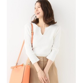IENA R JUBILEE 別注THERMAL ロングTシャツ ホワイト フリー