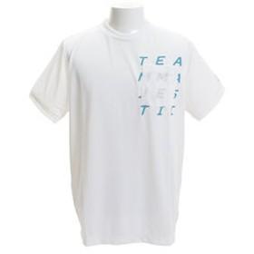 【Super Sports XEBIO & mall店:スポーツ】胸ポケット半袖Tシャツ XM01-MAJ-0025-WHT1
