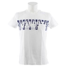【Super Sports XEBIO & mall店:トップス】パネル文字 半袖Tシャツ 871Q8CD2042WHT